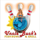 Uncle Buck's Fishbowl & Grill bowling logo