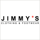 Jimmy's clothing & footwear logo