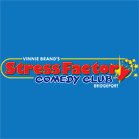 Stress Factory Comedy Club logo